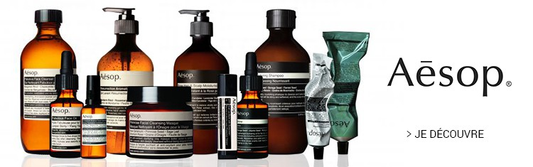 Aesop Soins Homme
