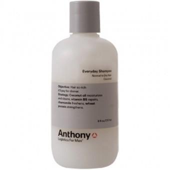 Anthony Logistics Homme - SHAMPOING QUOTIDIEN 60 ml - Phytolait de Coco - Offert dès 95€ d'achat ! -