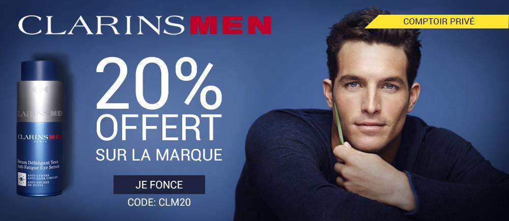 clarins-men-20%-offert