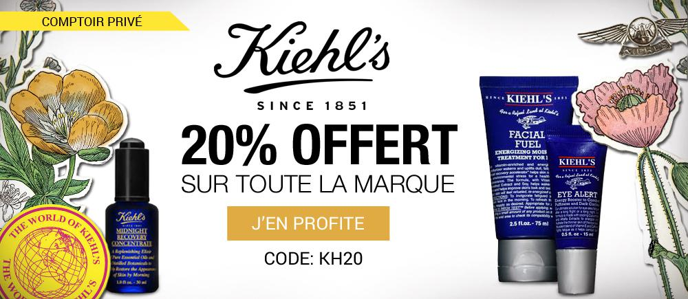 20%-offert-soins-kiehl's