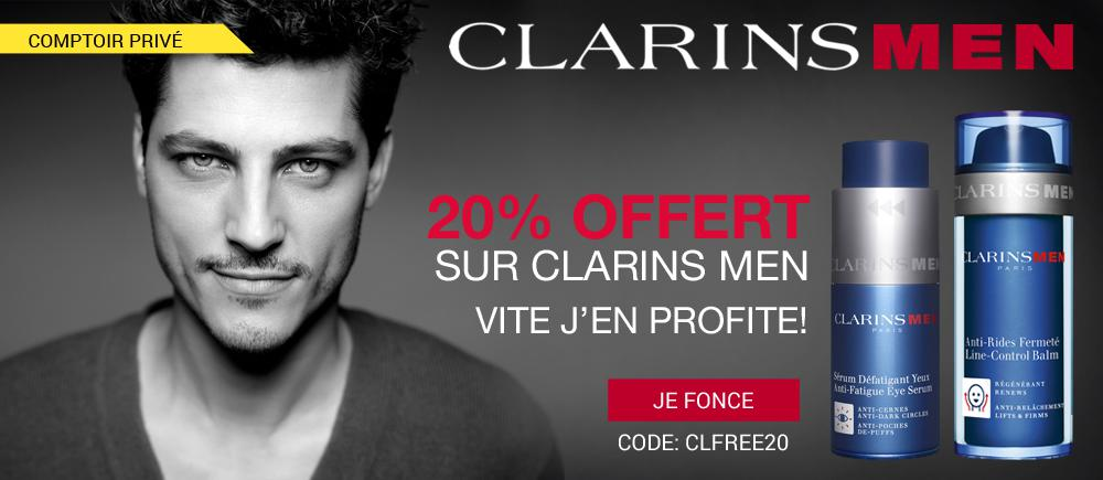 clarins-men-20%-offert