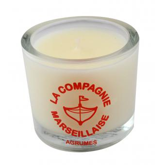 Bougie 190g Agrumes - La Compagnie Marseillaise