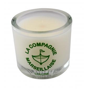 Bougie 190g Colline - La Compagnie Marseillaise
