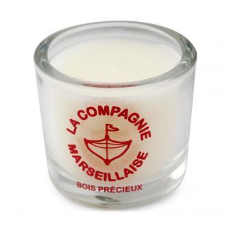 Bougie 190g Bois Précieux - La Compagnie Marseillaise