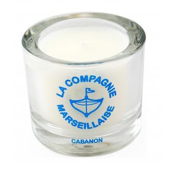 Bougie 90g Cabanon - La Compagnie Marseillaise