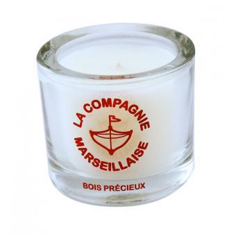 Bougie 90g Bois Précieux - La Compagnie Marseillaise