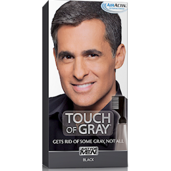 coloration cheveux homme gris noir just for men - Coloration Barbe Homme