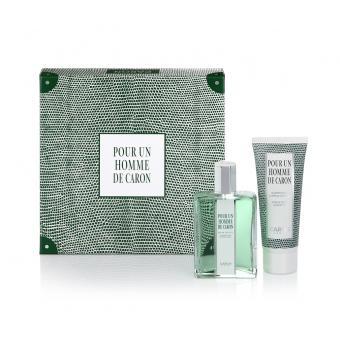 Coffret Pour un Homme - Eau de Toilette 125ml & Shampoing Douche Offert - Caron Paris