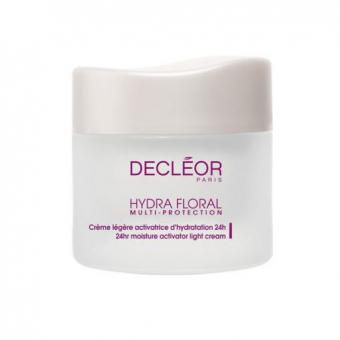 Hydra Floral Creme Legere Hydratante 24H 50 ml - Decleor