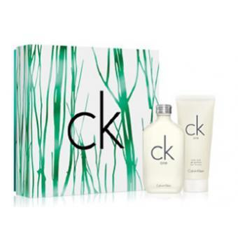 Coffret CK ONE 100ml avec Gel Douche 100ml Offert - Calvin Klein