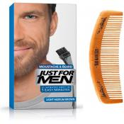 Just For Men Homme - COLORATION BARBE CHÂTAIN MOYEN CLAIR COULEUR NATURELLE - Coloration Cheveux & Barbe