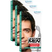 Just For Men - PACK 3 AUTOSTOP Châtain Foncé - Just for men