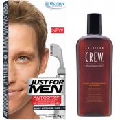 Just For Men Homme - PACK AUTOSTOP & SHAMPOING Blond - Coloration Cheveux & Barbe