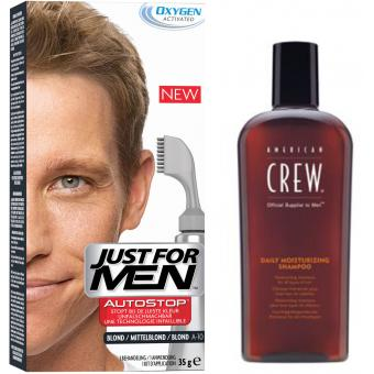 PACK AUTOSTOP & SHAMPOING Blond - Coloration Cheveux Homme - Just For Men