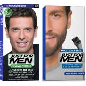 Just For Men - PACK COLORATION BARBE & CHEVEUX - Just for men