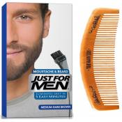 Just For Men - PACK COLORATION BARBE & PEIGNE - Châtain Moyen Foncé - Just for men