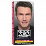 Just For Men Homme - Coloration Cheveux Homme Châtain Couleur Naturelle - Coloration Cheveux & Barbe