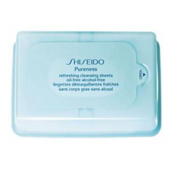 Pureness - Lingettes Démaquillantes Fraîches - Shiseido