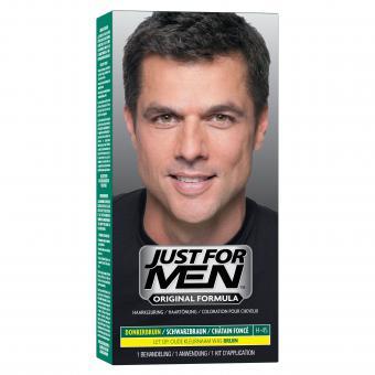 Coloration Cheveux Homme Châtain Foncé Couleur Naturelle - Just For Men