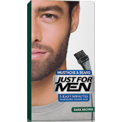 Just For Men Homme - Coloration Barbe Châtain Foncé Couleur Naturelle - Coloration Cheveux & Barbe