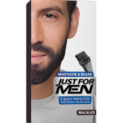 Just For Men Homme - Coloration Barbe Noir Naturel Couleur Naturelle - Coloration Cheveux & Barbe