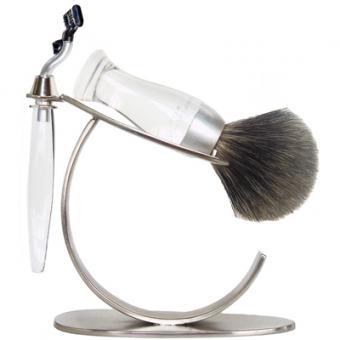 Set Rasage 3 Pieces Transparent Stand O Lames Mach 3® - E Shave