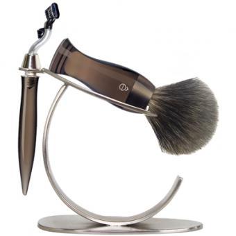 Set Rasage 3 Pieces Fumé Stand O Lames Mach 3® - E Shave