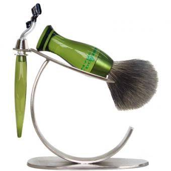 Set Rasage 3 Pieces Vert Stand O Lames Mach 3® - E Shave