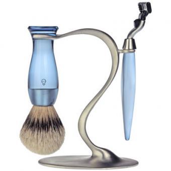 Set Rasage 3 Pieces Bleu Stand S Lames Mach 3® - E Shave
