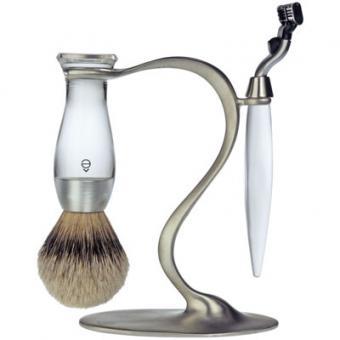 Set Rasage 3 Pieces Transparent Stand S Lames Mach 3® - E Shave