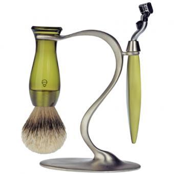 Set Rasage 3 Pieces Vert Stand S Lames Mach 3® - E Shave