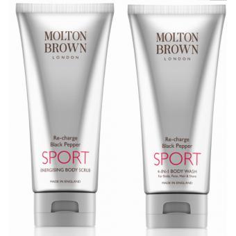 Duo Sport Poivre Noir pour le Corps - Molton Brown