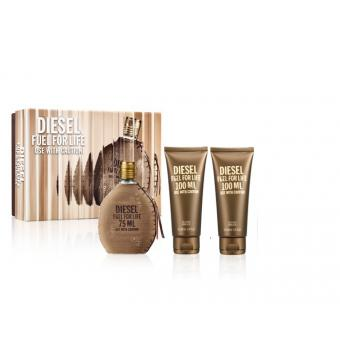 Coffret Fuel For Life 75ml - 2 Gels Douche Offerts - Diesel