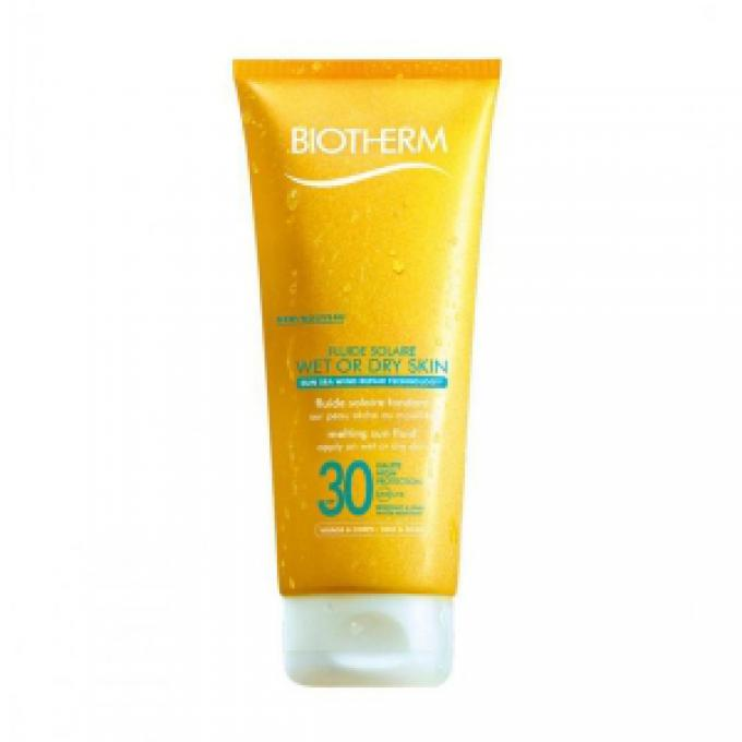 Fluide Solaire Wet Or Dry Skin SPF30 - Moyenne (SPF 15 à 30)