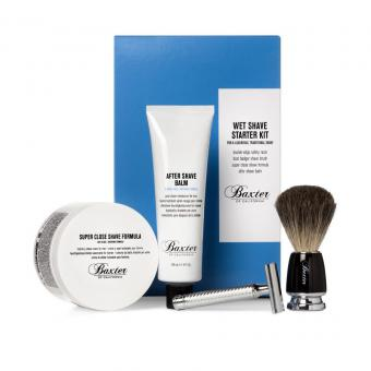 Kit Complet de Rasage Traditionnel - Baxter of California