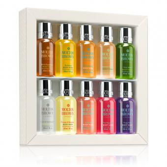 Coffret Collection 10 Minis Gel Douche - Molton Brown