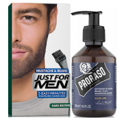 Just For Men - PACK COLORATION BARBE Châtain Foncé & Shampoing à Barbe 200ml Azur Lime - Just for men