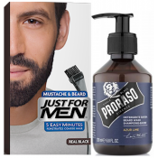 Just For Men - COLORATION BARBE Noir Naturel & Shampoing à Barbe 200ml Azur Lime - Just for men