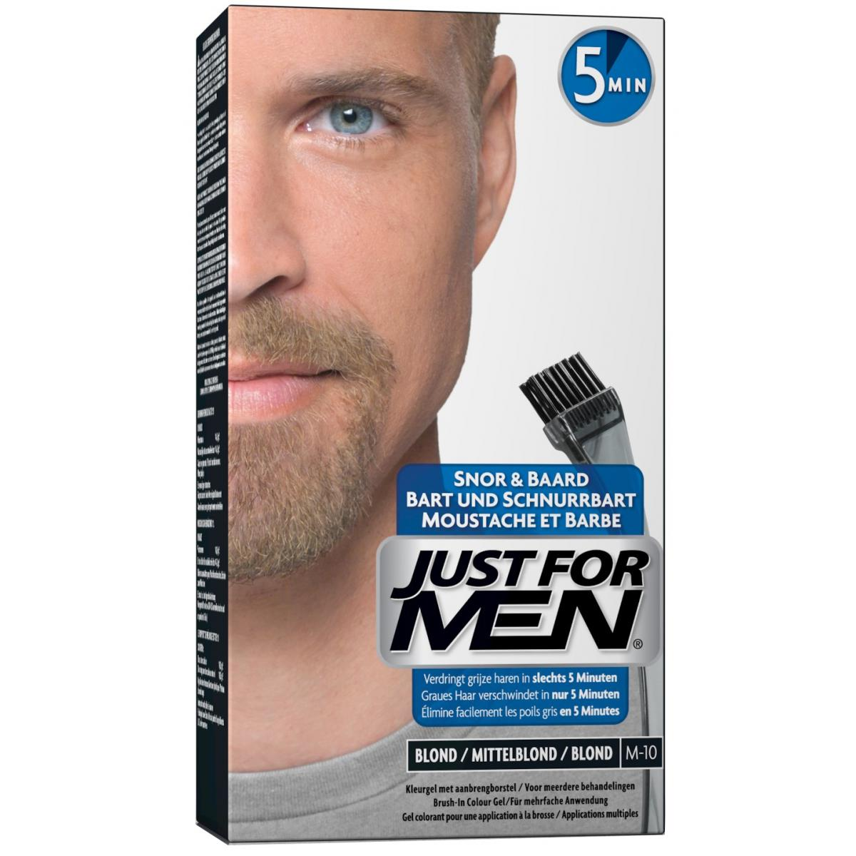 Pack Coloration Barbe Blond Couleur Naturelle & Shampoing à barbe