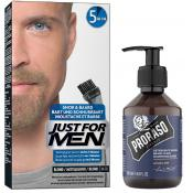 Just For Men - COLORATION BARBE Blond & Shampoing à Barbe 200ml Azur Lime - Meilleur shampoing homme