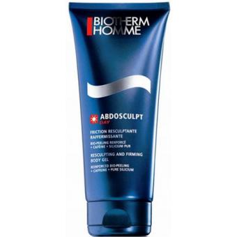 Biotherm  Homme - Abdosculpt - Friction raffermissante - Soin corps