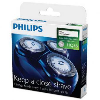Tête de rasage HQ56 pour rasoir Philips série 6000 - Philips
