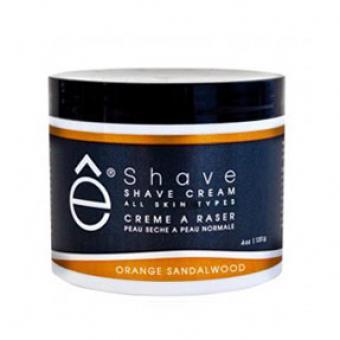 Crème à Raser Orange Bois de Santal - E Shave