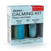 Skeen Plus Homme - Calming Kit Peaux Sensibles - Coffrets Soin Visage & Corps