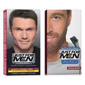 Just For Men - DUO COLORATION CHEVEUX & BARBE Châtain - Just for men