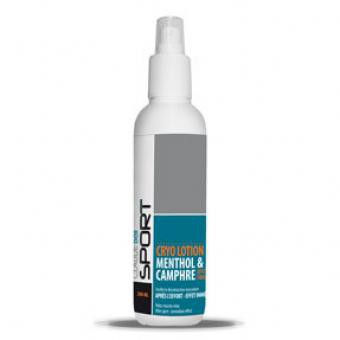 Sport Cryo Lotion Menthol et Camphre effet froid - Claude Bell