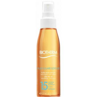 HUILE SOLAIRE SOYEUSE SPF 15 - Biotherm Solaires