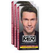 Just For Men - PACK 3 COLORATIONS CHEVEUX - Just for men