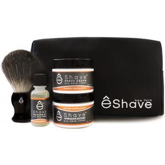 Trousse De Découverte Rasage Orange - E Shave