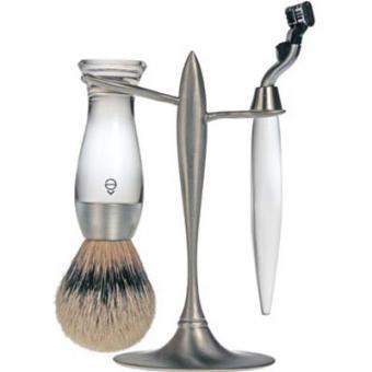 Set Rasage 3 Pieces Transparent Stand T Lames Mach 3® - E Shave